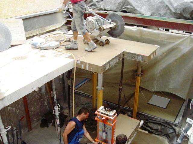 betondecke durch bausta 1 4 tzen abgesicherte spachteln vor estrich