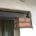 Durchbruch Wand Stahlträger